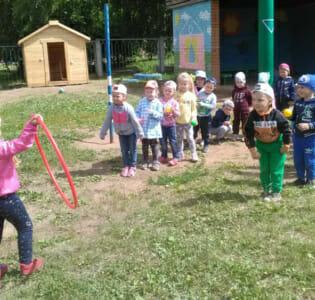 Детский сад № 26 отметил Международный Олимпийский день